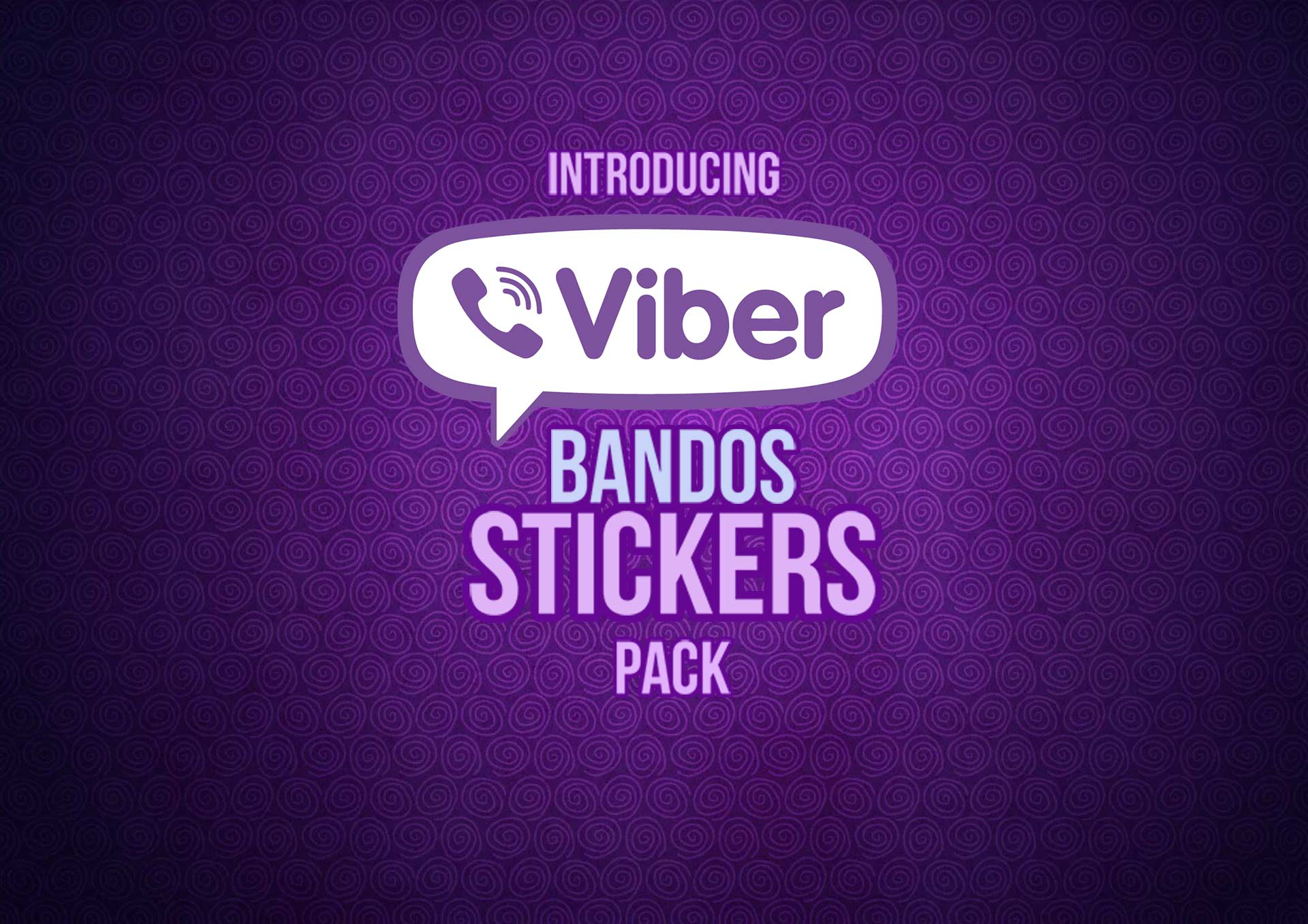 Viber sticker header